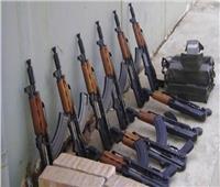 ضبط 5 قطع أسلحة نارية و35 قضية مخدرات في حملات أمنية مكبرة