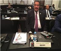 مطيع فخر الدين يمثل مصر في اجتماع عمومية الإتحاد الأفريقي للجودو
