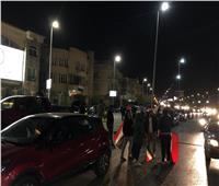 صور| بالأعلام.. القاهرة الجديدة تحتفل بنتيجة الاستفتاء على التعديلات الدستورية