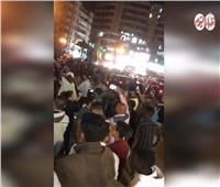 فيديو| احتفالات حاشدة بميدان الأوبرا عقب إعلان نتيجة الاستفتاء على التعديلات الدستورية