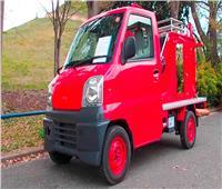 فيديو | أصغر سيارة إطفاء في العالم تتحدى الحرائق