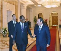 السيسي يستقبل إدريس ديبي ويؤكد حرص مصر تعزيز العلاقات مع تشاد