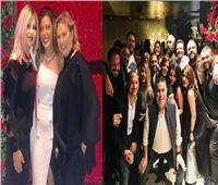 صور| ريهام حجاج تحتفل بزواجها من «حلاوة» بحضور الفنانين