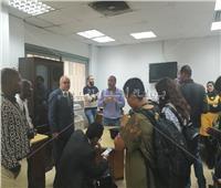 صور| وفد صحفي أفريقي يزور «بوابة أخبار اليوم»