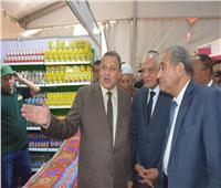 صور| وزير التموين ومحافظ الجيزة يفتتحان «أهلًا رمضان» بفيصل