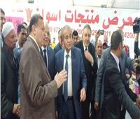 صور| وزير التموين يفتتح معرض «أهلا رمضان» في الجيزة