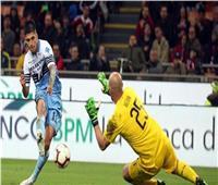 فيديو| لاتسيو يعبر ميلان إلى نهائي كأس إيطاليا