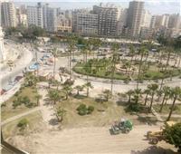 صور| مستشار محافظ الإسكندرية يكشف حقيقة هدم حديقة الإسعاف