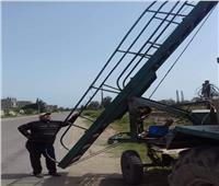 محافظ البحيرة: رفع كفاءة أعمال الإنارة استعدادا لأعياد شم النسيم بالبحيرة