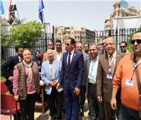 رئيس جامعة دمنهور يشهد ملتقى الفنون بأوبرا دمنهور