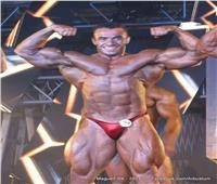 بطل مصر في كمال الأجسام يهزم إيراني ويفوز بذهبية «لبنان برو»