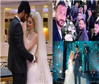 صور وفيديو| علي جبر يحتفل بزفافه في حضور نجوم الرياضة