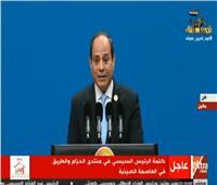 السيسى: ننفذ برنامجًا اقتصاديًا طموحًا لجذب الاستثمارات إلى مصر
