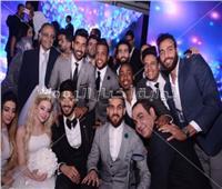 100 صورة من زفاف علي جبر.. حماقي وجسار نجما الحفل