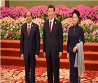 السيسي يشارك في مأدبة عشاء رسمية أقامها الرئيس الصيني  صور