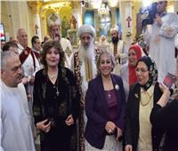 الأنبا بولا يترأس قداس عيد الميلاد بكنيسة مارجرجس بطنطا