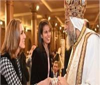 فيديو| البابا تواضروس يستقبل المهنئين بـ«عيد القيامة» بكاتدرائية العباسية