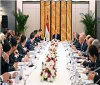 السيسي في الصين| تفاصيل لقاء الرئيس مع رجال الأعمال في بكين