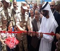 القوات المسلحة تفتتح أعمال تطوير ٣ مدارس بالسويس