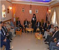 محافظ المنيا يقدم التهنئة للأقباط بمناسبة عيد القيامة