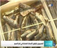 شاهد|عادات توارثها المصريون خلال الاحتفالات بشم النسيم