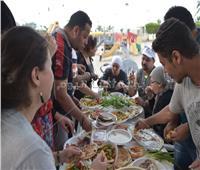 صور| الجالية المصرية في الكويت تحتفل بشم النسيم