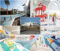 صور| منتجع حمامات سباحة بتكلفة 40 مليون إسترليني