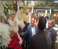 وزير الري يتفقد أعمال تطوير حدائق «القناطر الخيرية»