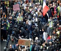 بالصور| في عيد العمال.. أجواء مشحونة في فرنسا وسط احتجاجات السترات الصفراء