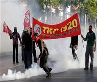 اعتقال 127 شخصا في مظاهرة بمناسبة «عيد العمال» بتركيا