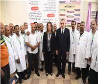 وزيرة التضامن الاجتماعي: تطوير مصنع الأطراف الصناعية بالصعيد «رسالة»