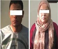 المتهمة بقتل زوجها بالاشتراك مع عشيقها في القليوبية تمثل الجريمة