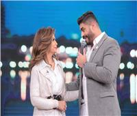 الليلة.. خالد سليم وزوجته ضيفا «معكم» مع منى الشاذلي