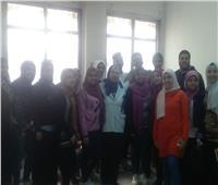 صور| ندوة شبابية لحماية البيئة بجامعة حلوان