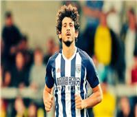 صورة| أحمد حجازي يتوج كأفضل لاعب في وست بروميتش