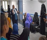 رئيس جامعة القاهرة: الكشف الطبي على ٢٦٠ مريضا في يومها الأول