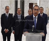 مدبولي ينقل تحيات الرئيس السيسي لرئيس مجلس النواب اللبناني