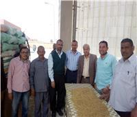 توريد 27.5 الف طن من محصول القمح لصوامع وشون المنوفيه