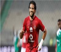 مروان محسن يسجل الهدف الثاني للأهلي في شباك إنبي