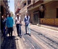 محافظ الأقصر يتابع أعمال رصف الشوارع وإزالة الإشغالات