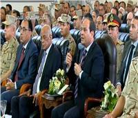 فيديو| السيسي: «مصر دي بلدي وأنا هحميها»