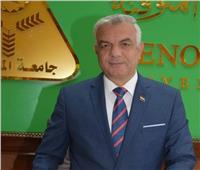 رئيس جامعة المنوفية يهنئ السيسي بحلول شهر رمضان المبارك