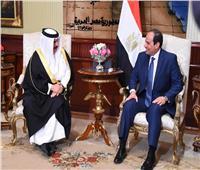 السيسي يتلقى تهنئة ملك البحرين بحلول شهر رمضان