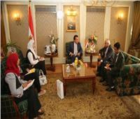 وزير التعليم العالي يستقبل سفير نيبال بالقاهرة