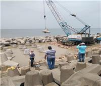 الري: الانتهاء من تنفيذ 42% من مشروع حماية الشواطئ بالإسكندرية