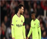 جماهير برشلونة تهاجم «ميسي» في مطار ليفربول