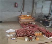 ضبط 118 طن مواد غذائية منتهية الصلاحية في حملة تموينية بالجيزة