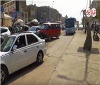 فيديو| «الشارع يضرب يقلب».. أعمال صيانة تتسبب في شلل مروري بمدينة نصر
