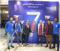 طلاب جامعة حلوان يتألقون في مسابقة «إبداع 7»