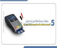 إنفوجراف | 5 جهات مستثناة من تحصيل المستحقات الحكومية إلكترونيًا